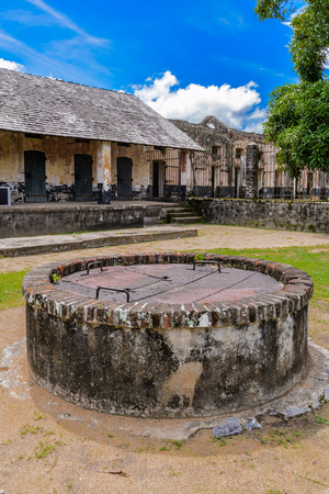 Yard of the Prison in Saint Laurent du Maroni, French Guiana, South America