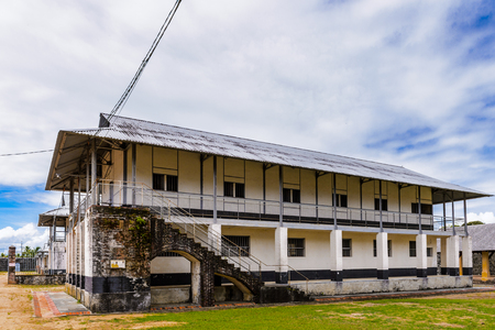 Part of the Prison in Saint Laurent du Maroni, French Guiana, South America