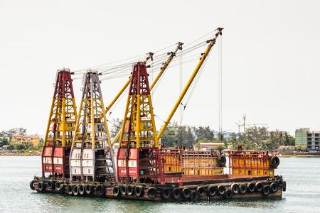 Crans on the coast of Luanda,