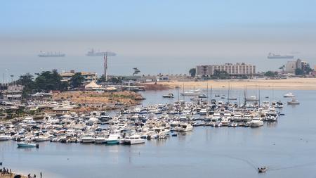 Haven van Luanda, Angola Stockfoto
