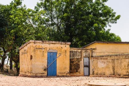 Telephone cabin in Togo, Africa