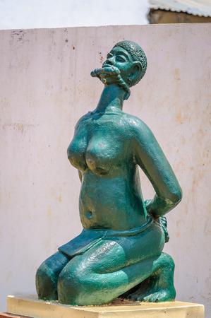 Monument in Benin, Africa Stock Photo