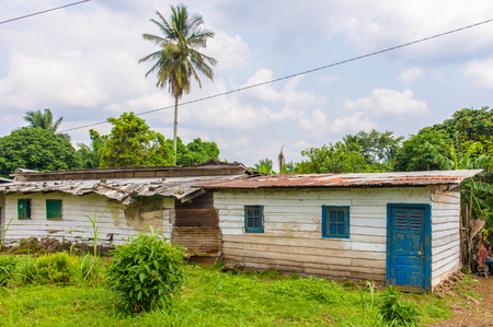 Small house for living in Cameroon