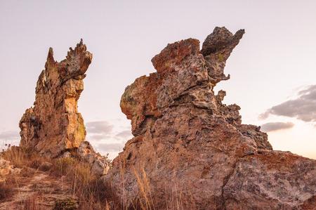 Rocky mountain in Madagascar