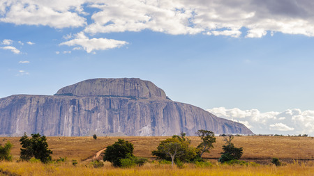 Mountain in rock in Madagascar, Africa