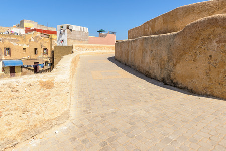 Architecture of the Portuguese Fortified City of Mazagan, UNESCO World Heritage Site, El Jadida, Morocco