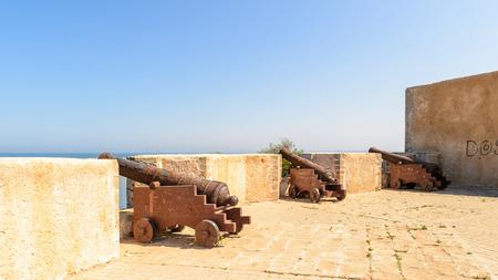 Cannon in the Portuguese citadel of Mazagan