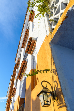 Hotel in Chefchaouen, Morocco.