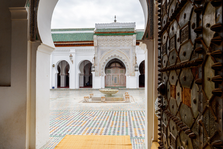 Bou Inania Madrasa, Fez, the second largest city of Morocco. Fez was the capital city of modern Morocco until 1925 and