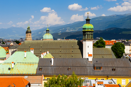 Panorama of Innsbruck, Austria, federal state of Tyrol (Tirol)