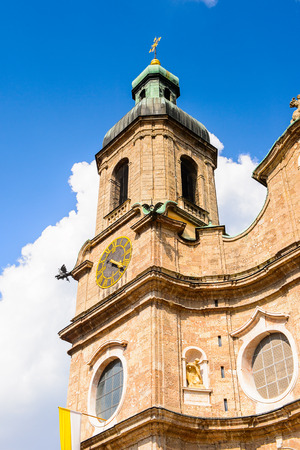 Church of Innsbruck, Austria, federal state of Tyrol (Tirol)