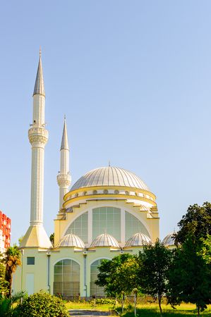 Al-Zamil Mosque, Shkoder Albania. Constructed in 1995