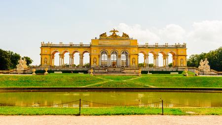 Gloriette, Schonbrunn Palace, Vienna, Ausria Editorial