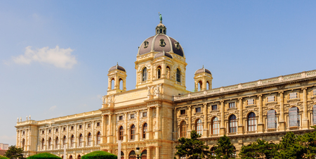 Kunsthistorisches Museum (Museum of Art History, Museum of Fine Arts), an art museum in Vienna, Austria. Stock Photo