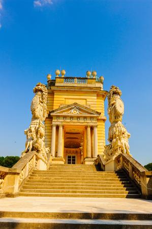 Gloriette, Schonbrunn Palace, Vienna, Ausria 免版税图像 - 92079333