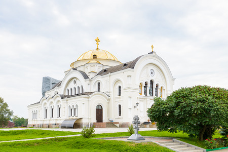 Cathedral of St. Nicholas of the Brest Fortress, Brest, Belarus. It is one of the Soviet World War II war monuments commemorating the Soviet resistance against the German invasion on June 22, 1941