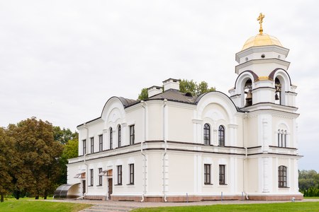 Orthodox church of the Brest Fortress, Brest, Belarus. It is one of the Soviet World War II war monuments commemorating the Soviet resistance against the German invasion on June 22, 1941