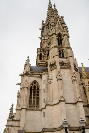 Cathedral in Brussels, Belgium.