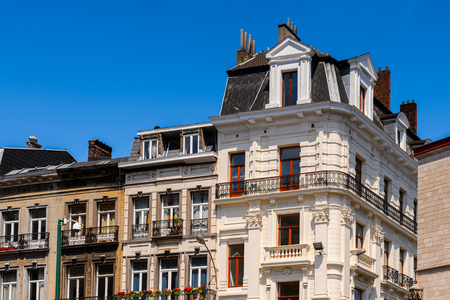 Architecture of the centre of Brussels, Belgium