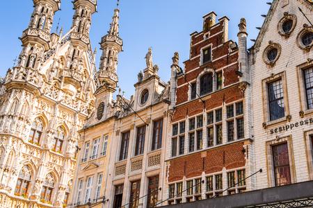 Architecture in Leuven Flemish Region, Belgium