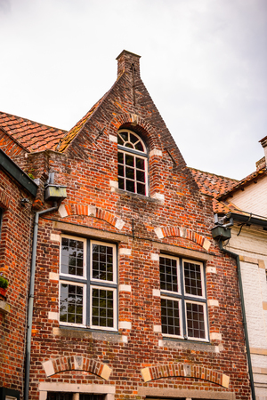 Medieval houses in Historic Centre of Bruges, Belgium.