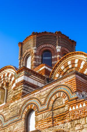 Church of Christ Pantokrator, Old town of Nesebar, Bulgaria, Bulgarian Black Sea Coast.