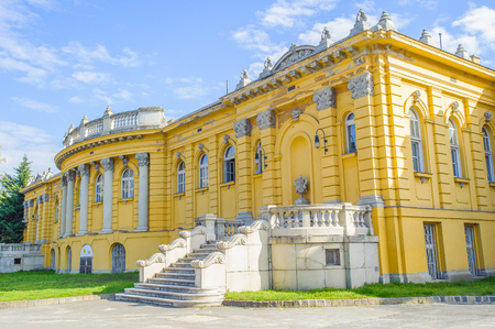 Part of the Szechenyi Medicinal Bath in Budapest Editorial