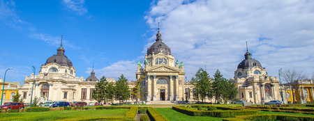 Szechenyi Medicinal Bath in Budapest, Hungary, the largest medicinal bath in Europe.