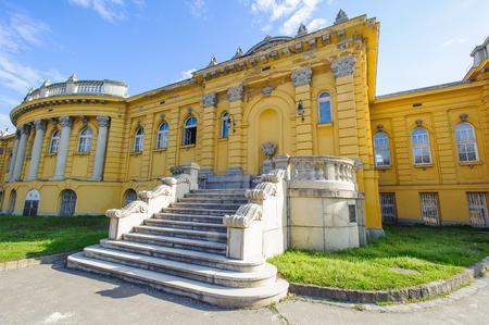 Szechenyi Medicinal Bath in Budapest