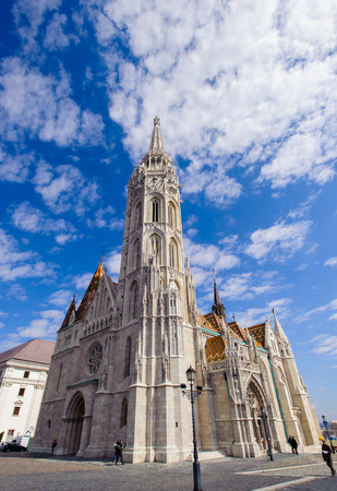 Tower of the Matthias Church, Budapest, Hungary