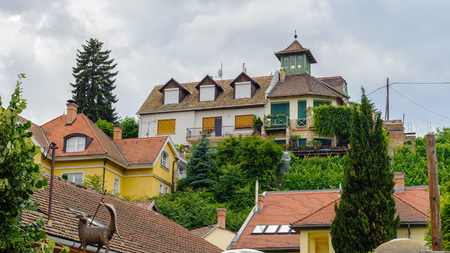 Mountain with houses on it, Szentendre, Hungary