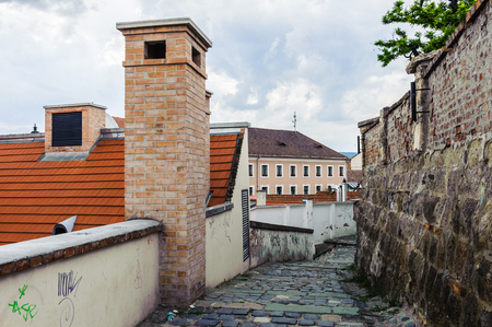 Szentendre, a riverside town in Pest county, Hungary, near the capital city Budapest. Stock Photo