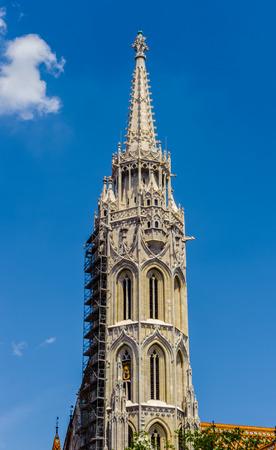 Matthias Church, Budapest, Hungary Stock Photo