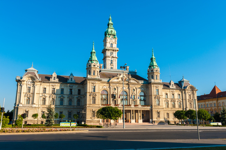 Town Hall of Gyor, Hungary