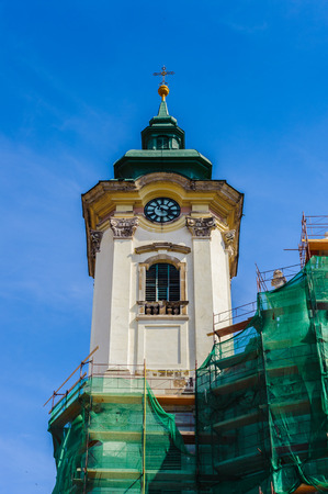 Top of the cathedral of Eger