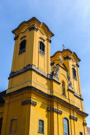 The minorite church of Eger, Hungary