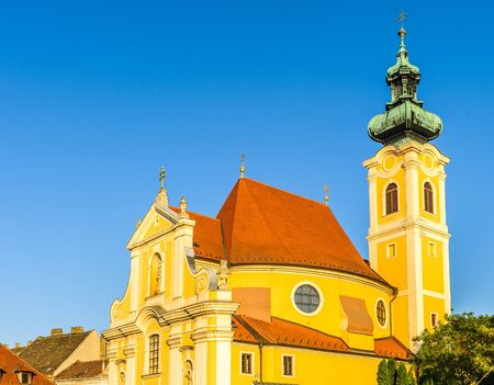 Carmelita Church in Gyor, Hungary Stock Photo