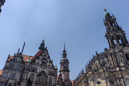 Old town of Dresden, Germany Stock Photo