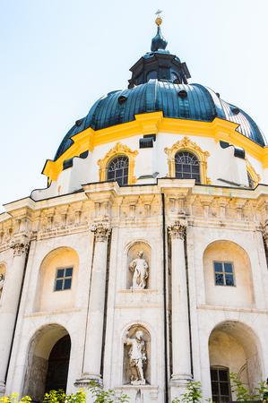 Ettal Abbey (Kloster Ettal) , a Benedictine monastery in the village of Ettal, Bavaria, Germany