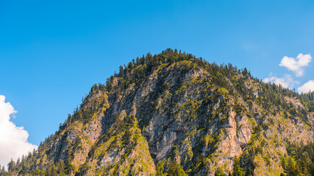 Mountains in Bavaria, Germany Stock Photo