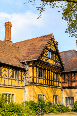 Cecilienhof Palace a palace in Potsdam, Brandenburg, Germany. Palaces and Parks of Potsdam and Berlin