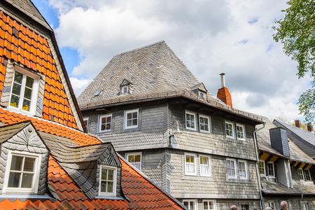 House in Gorlar, Lower Saxony, Germany Stock Photo