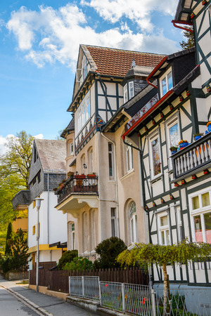 Half-timbered House in the Old town of Gorlar, Lower Saxony, Germany