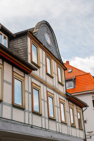 Architecture in the Old town of Gorlar, Lower Saxony, Germany