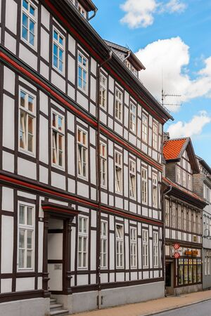 Old town of Gorlar, Lower Saxony, Germany. Stock Photo
