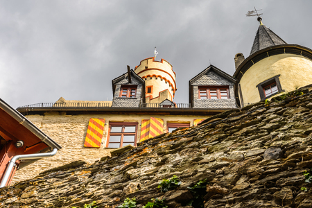 Marksburg castle. It is one of the principal sites
