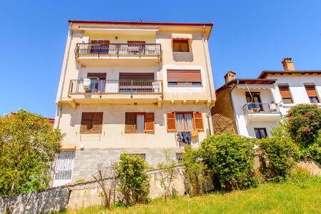 Architecture of Kastoria, West Macedonia, Greece Stock Photo