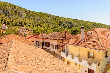 Roof top of Kastoria, West Macedonia, Greece