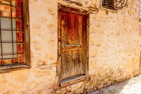 Architecture of Kastoria, West Macedonia, Greece Stockfoto