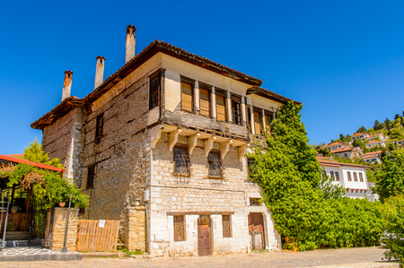 Architecture of Kastoria, West Macedonia, Greece Stock Photo